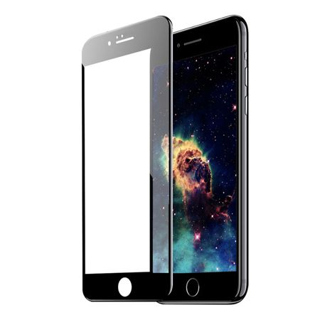 TEMPERED GLASS 5D für iPhone 6/6s schwarz